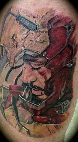tattoo - Iron Man, Tony Stark