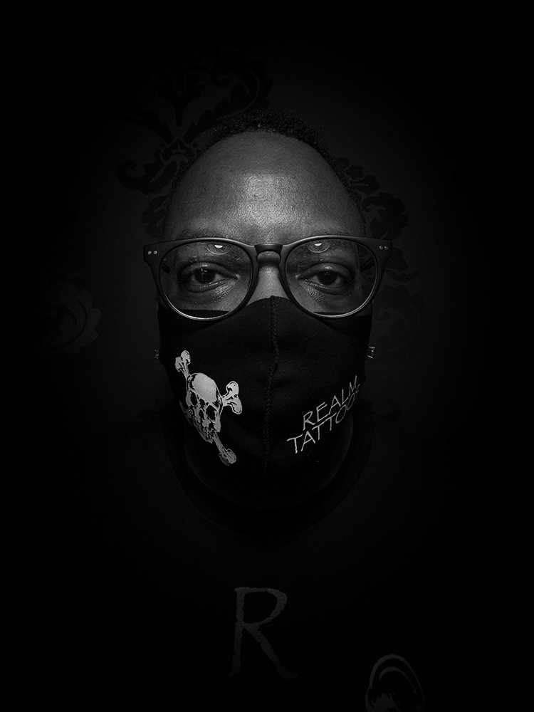 John Lawrence - Tattoo Artist - Headshot
