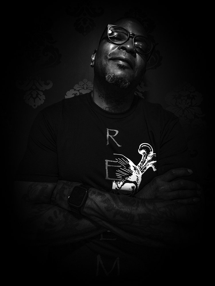 John Lawrence - Tattoo Artist - Headshot