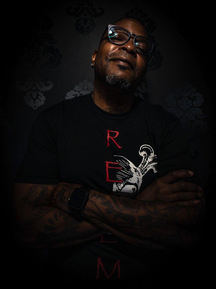 John Lawrence - Tattoo Artist - Headshot 02