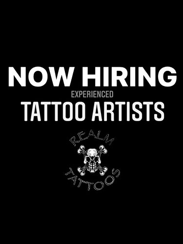 NOW HIRING TATTOO ARTISTS