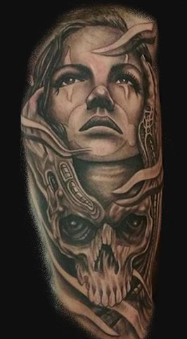 chicano style tattoo realm tattoos